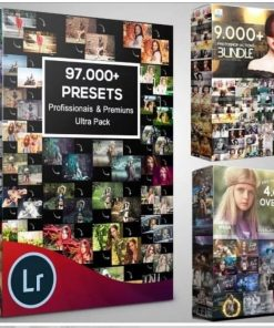 100,000 Photoshop Actions, Overlay Lightroom Presets